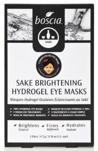 Sake Brightening Hydrogel Eye Masks
