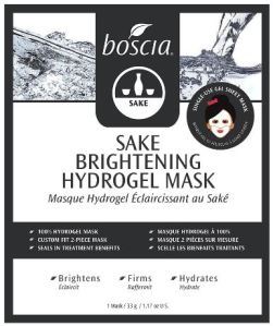 Sake Brightening Hydrogel Face Mask