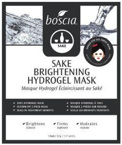 Sake Brightening Hydrogel Face Mask